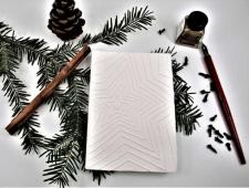 Weihnachtskarten Päcklianhänger